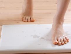 matomeno:创意的吸水脚垫