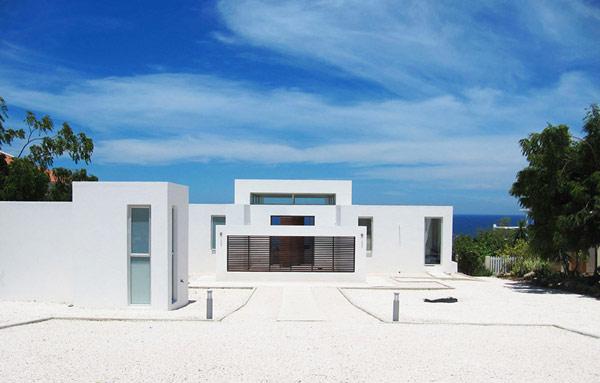 俯瞰加勒比海:curacao岛现代度假别墅 - 设计之家