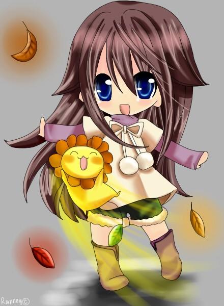 可爱的日式动漫人物插画欣赏(2)