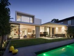 优雅而温馨的墨尔本现代住宅设计