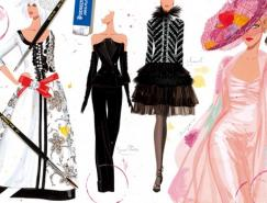 JordiLabanda时尚的时装插画欣赏