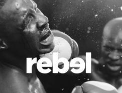 澳洲Rebel体育用品直销连锁店新LOGO