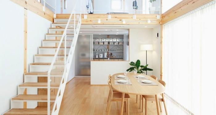 日式极简主义风格室内设计欣赏(2)