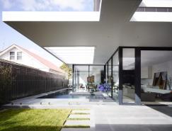 澳大利亚现代简约的维多利亚式住宅设计