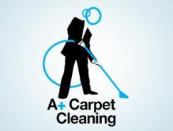 30款国外清洁服务行业Logo设计