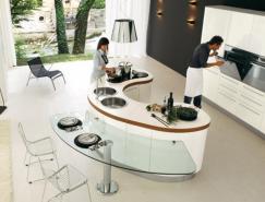国外岛型厨房设计