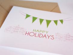 漂亮溫馨的2013新年卡片設計