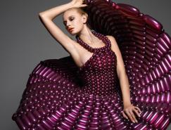 DaisyBalloon:令人惊叹的气球礼服设计