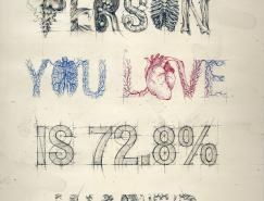 创意字体排版:国外海报设计欣赏