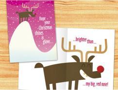 25款國外圣誕和新年賀卡設計