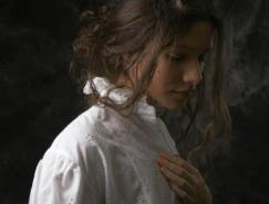 LouisTreserras照片品质的肖像绘画作品