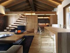 StudioFanetti:意大利Campodolcino全木质现代住