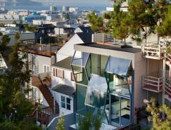 旧金山TheFlipHouse:全通透棱镜般