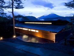 拥抱自然的日本浅间山别墅