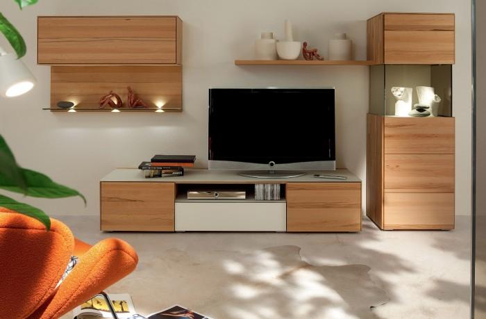 木制组合单元电视背景墙设计