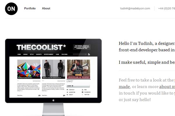 简约的布局:36个国外网站设计