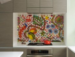 50个厨房后档板设计
