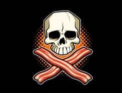 标志设计元素运用实例:骷髅(二)