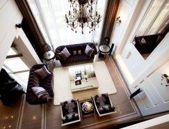 经典风格的精致复式公寓