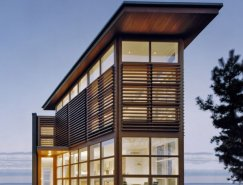 Cypress Clad海滨住宅设计
