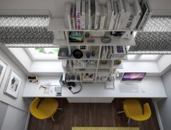 国外创意家庭工作区设计
