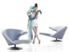 StefanHeiliger作品:Parabolica扶手椅
