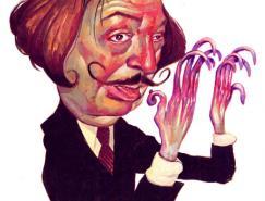 TimBower人物肖像插画