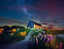 美麗的新西蘭風景攝影