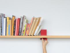 ColleenWhiteley创意滑块书架