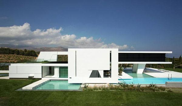 雅典h3未来主义风格别墅设计