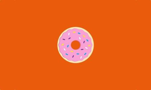 标志设计元素运用实例:杯形蛋糕和甜甜圈(2)