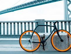 意大利创新设计的大都会自行车