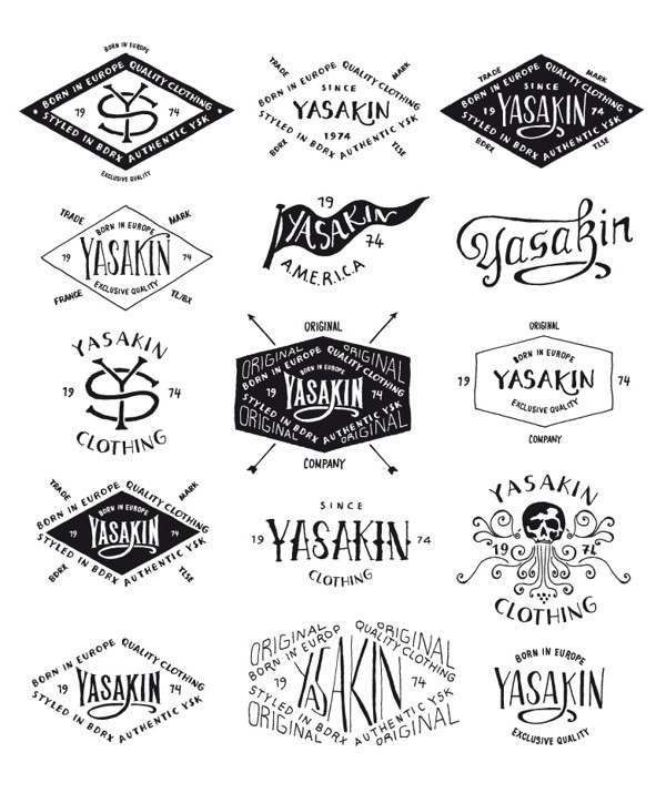 bmd design手绘风格标志设计(2)图片