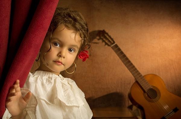 bill gekas油画般的可爱儿童肖像摄影