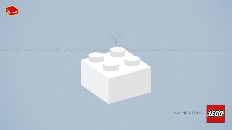 乐高视频诞生50周年平面广告v视频(2)艾兰岛积木图片