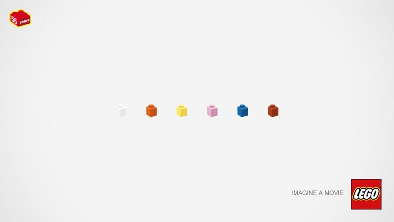 乐高积木诞生50周年平面广告v积木(4)芭比娃娃视频房间介绍图片