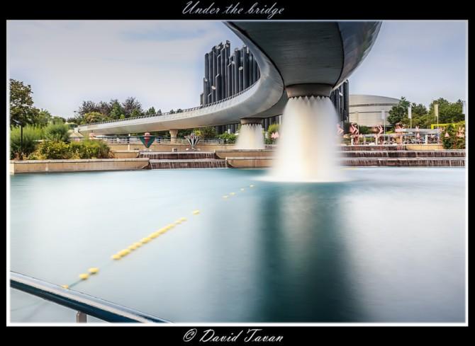 摄影欣赏:桥下的风光