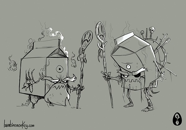 Maroto Bambinomonkey卡通角色插画设计
