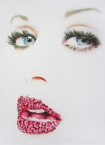 roho精细的明星肖像铅笔画