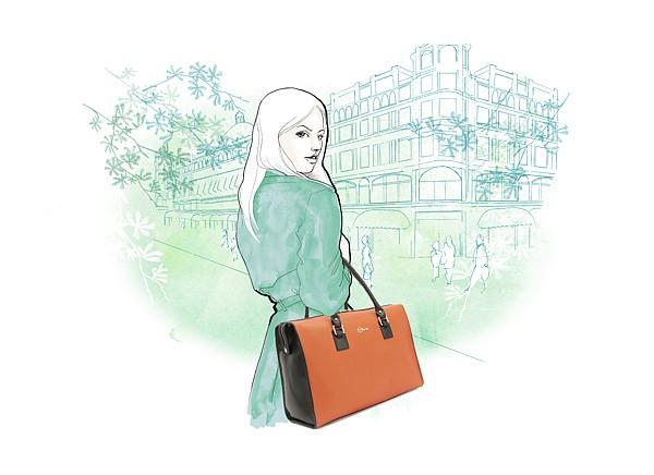 Willa Gebbie时尚生活插画