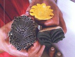 品牌设计欣赏:印度Bagru木版画商店