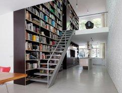 大胆的设计 超大的书架:鹿特丹三层垂直