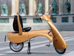 匈牙利Antro:电动折叠摩托车Moveo