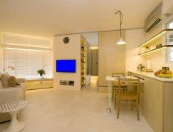 Clifton Leung:巧妙的储物空间 香港39平米公寓