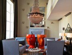 迷人的颜色 丰富的纹理:莫斯科公寓改造再皇冠新2网