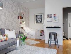 瑞典38平米精致的小公寓装修设计