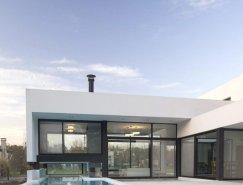 阿根廷简约黑白风格豪宅