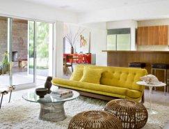 高雅时尚 颜色混搭的室内装饰:Brentwoo