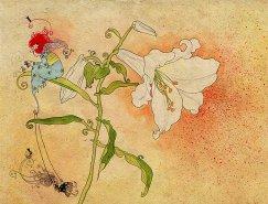 以色列Sveta Dorosheva浪漫梦境般的插画作品