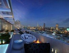 现代时尚的伦敦ME酒店(ME Hot